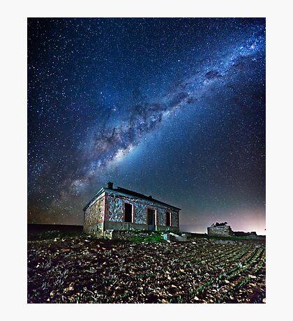 Burra North Ruin and Galaxy Photographic Print