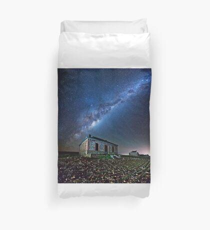 Burra North Ruin and Galaxy Duvet Cover