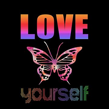 BTS Quote: Love Yourself! by InniCo