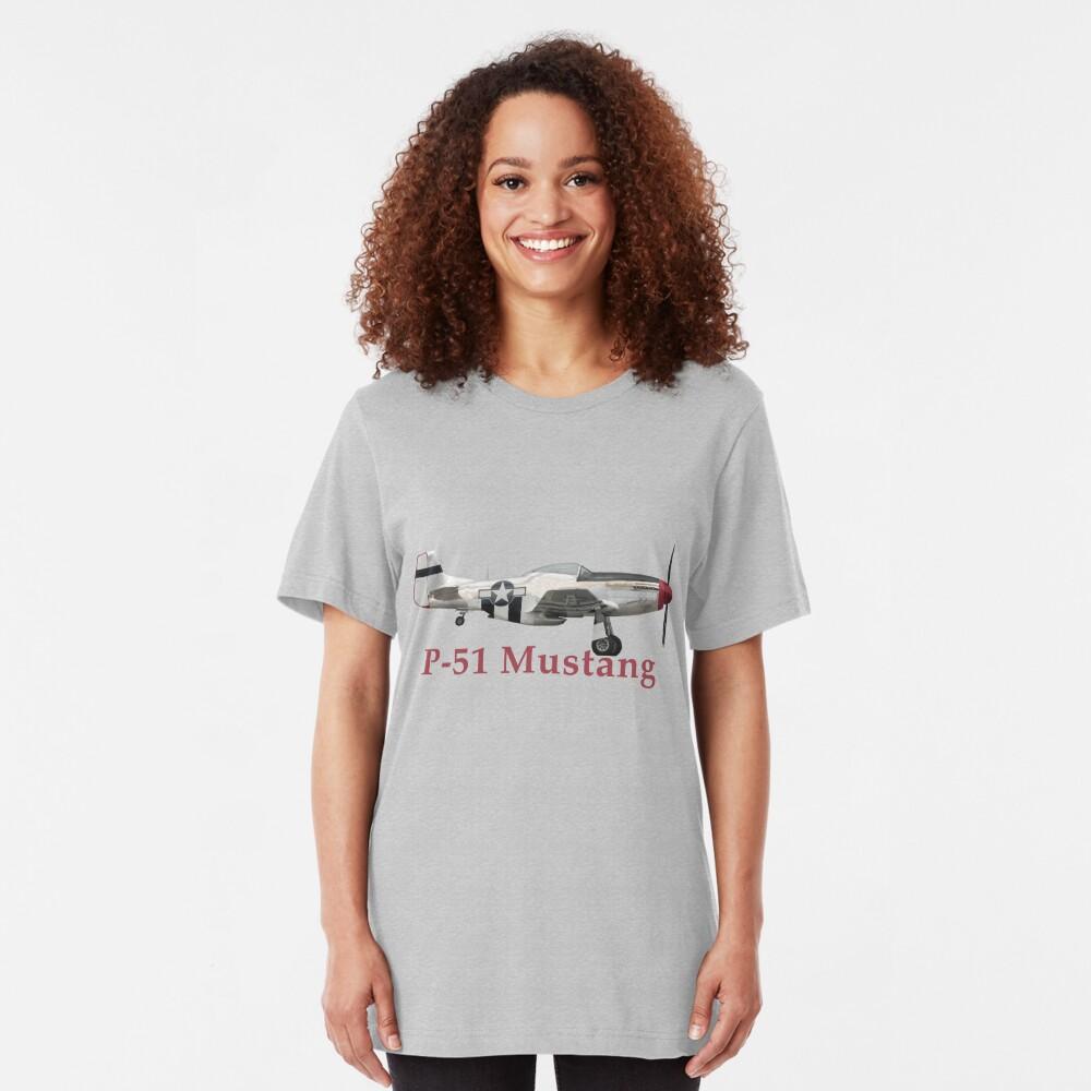 P-51 Mustang Slim Fit T-Shirt