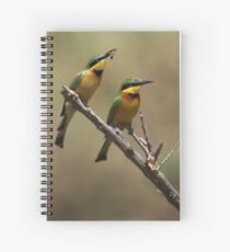 Little Bee Eaters Spiral Notebook