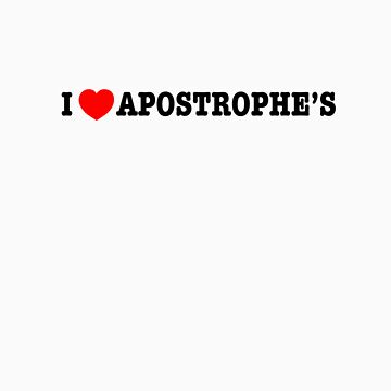 Apostrophilia by paulkidd