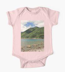 a desolate Dominica landscape Kids Clothes