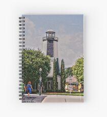 Lighthouse Shops Spiral Notebook
