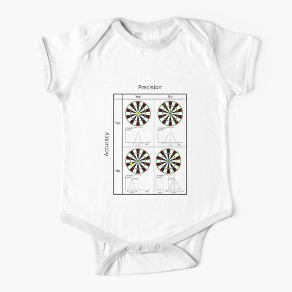 #precision #accuracy #dartboard #pattern #dart #circle #symmetry #luck #fun #chance #design #illustration #symbol #horizontal #colorimage #bright #copyspace #inarow #artsculture #entertainment Short Sleeve Baby One-Piece