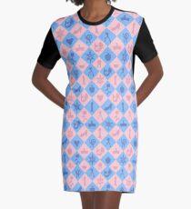 Fantastical Fairytale Pattern Graphic T-Shirt Dress