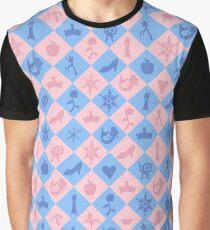 Fantastical Fairytale Pattern Graphic T-Shirt