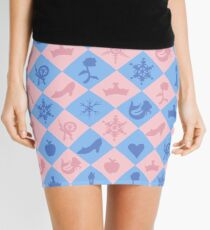 Fantastical Fairytale Pattern Mini Skirt
