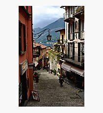 Bellagio Street Scene Photographic Print