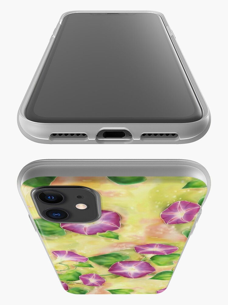 Alternate view of Dreamy Flowers iPhone Case & Cover