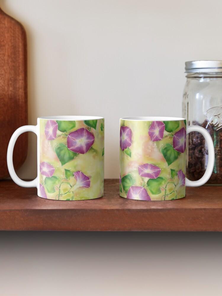 Alternate view of Dreamy Flowers Mug