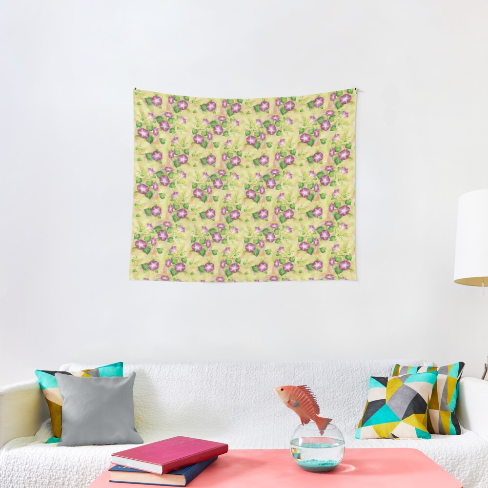Dreamy Flowers Tapestry