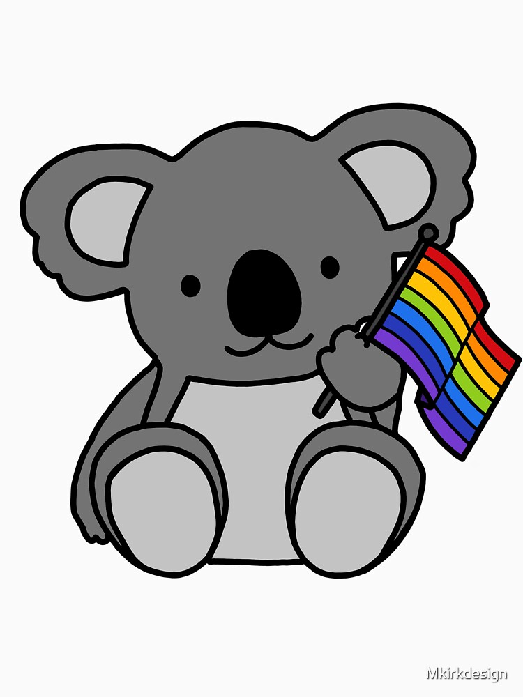 Gay Koala - Gay Pride  by Mkirkdesign