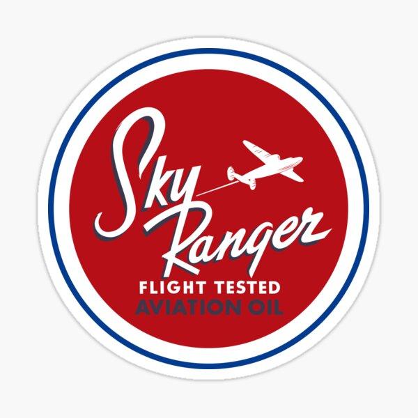 Sky Ranger Aviation Oil Sticker