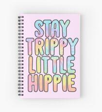 trippy kleiner Hippie bleiben Spiralblock