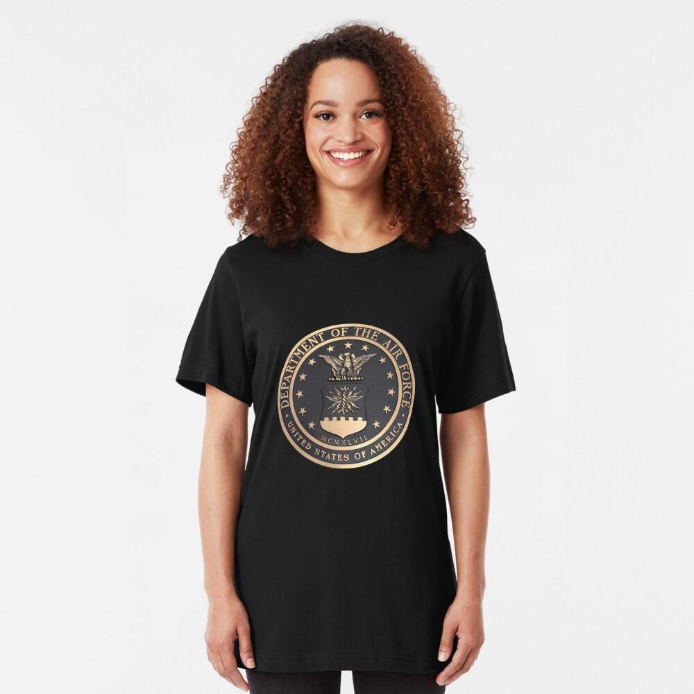 US Air Force Emblem T-Shirt Slim Fit T-Shirt
