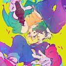 « BANANA FISH typo poster » par Sedeto
