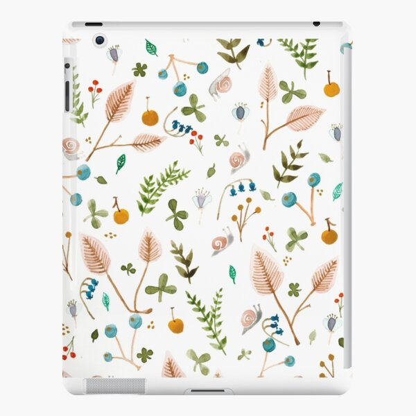 Snails and Harebells iPad Snap Case