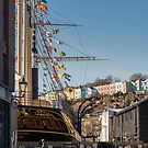 The SS Great Britain on Bristol's Harbourside by Carolyn Eaton