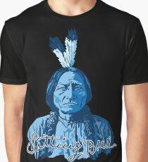 SITTING BULL Graphic T-Shirt