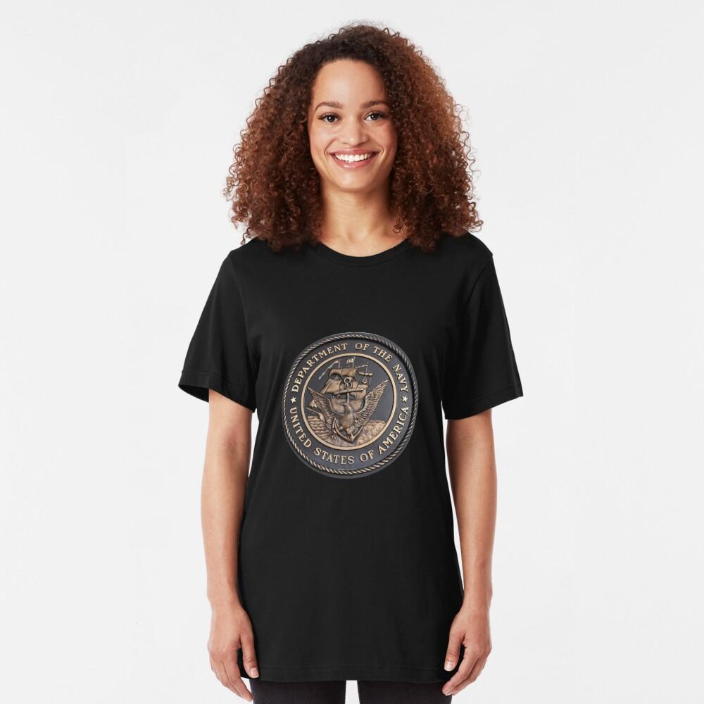 US Navy Emblem T-Shirt Slim Fit T-Shirt