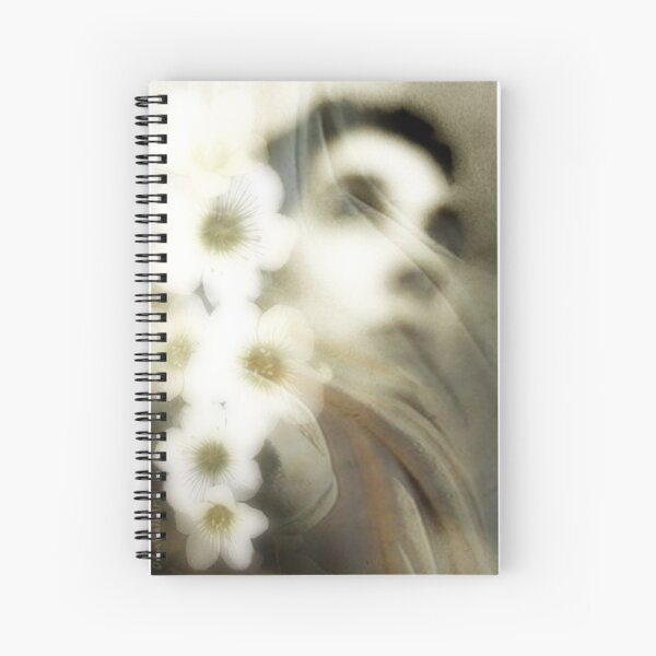 Between two gardens Spiral Notebook