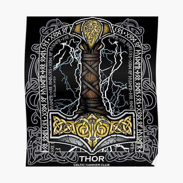 Thor Odinson, God of Thunder (Full Color) Poster