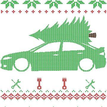 Mazda 6 Christmas Ugly Sweater XMAS by glstkrrn