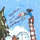 Lee's Design by Mayor Hagerty's Holiday Card Contest Finalists