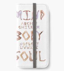 Mind Body Soul iPhone Wallet/Case/Skin
