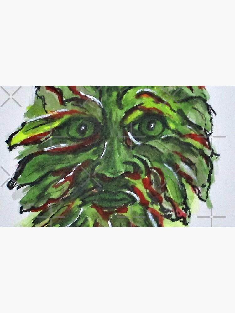 Fall Green Man by cjkell