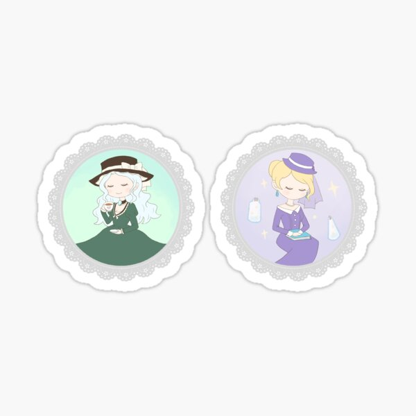 TWTP sticker set: Andrea and Marilyn Sticker