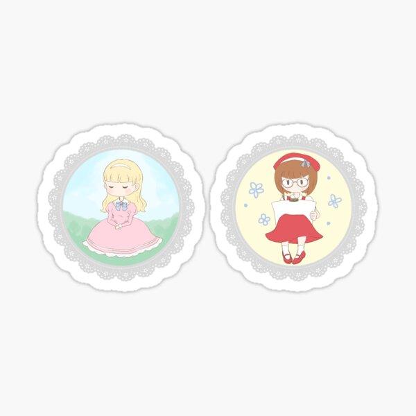 TWTP sticker set: Charlotte and Vanessa Sticker