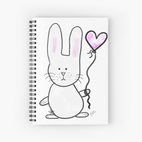 Bunzie and the Love Balloon Spiral Notebook