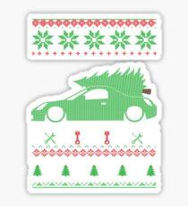 MR2 Spyder Christmas Ugly Sweater XMAS Sticker