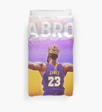 LAbron:The King Of LA Duvet Cover