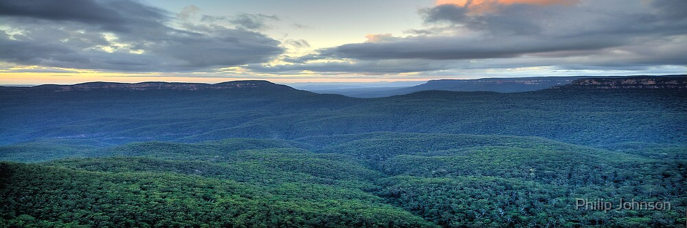 Blue Mountains Odyssey - Blue Mountains World Heritage Area - The HDR Experience by Philip Johnson