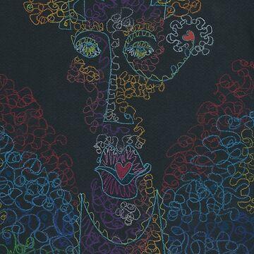 The Frenetic Babe VI by Landrigan