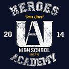 Heroes Academy / My Hero Academia by Ruwah