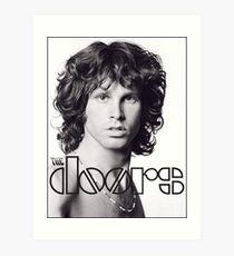 Jim Morrison von den Türen Kunstdruck