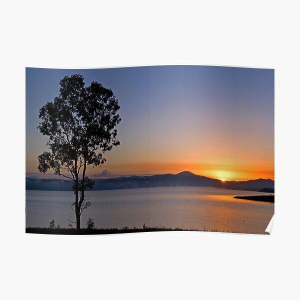 Wivenhoe sunrise Poster