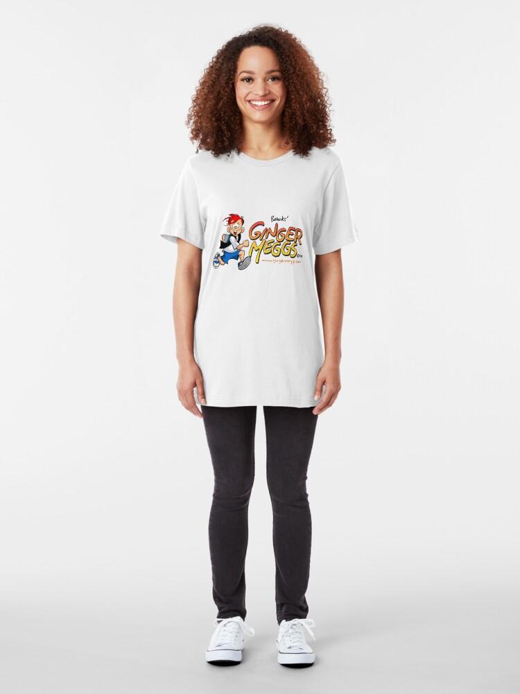 Alternate view of Ginger Meggs Slim Fit T-Shirt