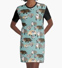 Badger mommy Graphic T-Shirt Dress