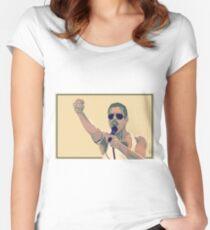The Queen Singer Women's Fitted Scoop T-Shirt