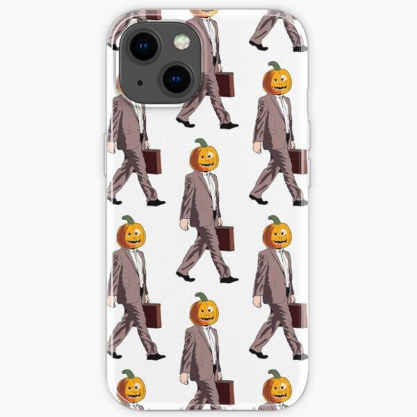 Dwight Pumpkin Head iPhone Soft Case