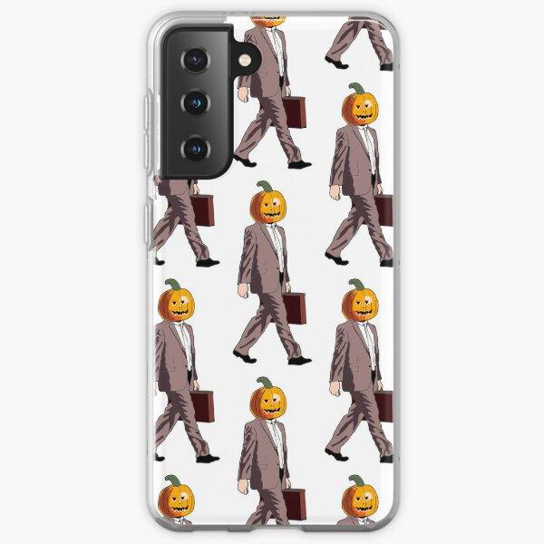 Dwight Pumpkin Head Samsung Galaxy Soft Case