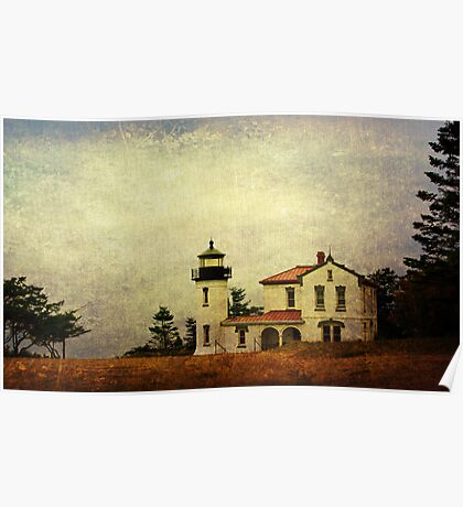 Admiralty Head Lighthouse - Whidbey Island Poster