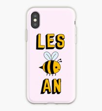 LES BEE AN LESBIAN iPhone Case