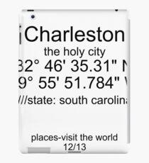 places 12/13 Charleston iPad-Hülle & Klebefolie