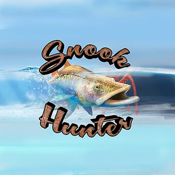 Snook Hunter Full Background by wrapgraphics